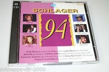 SCHLAGER 94 / 2 CD'S MIT BLÄCK FÖÖSS JUDY WEISS HÖHNER TOM ASTOR NADINE NORELL