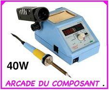 1 STATION DE SOUDAGE FER A SOUDER 48W 150-420°C DIGITAL (66021-1) Poids 2,5Kg