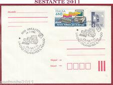 ITALIA FDC MAGYAR POST LAVORO ITALIANO PER IL MONDO OLIVETTI 1986 IVREA TO T543