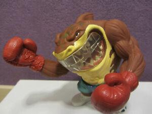 Street Sharks Big Boxer Slugger Slammu with MOUTH GUARD Piece Streetwise Mattel