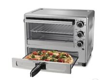 New oster TSSTTVPZDS Turbo Convection Toaster Oven wPizza Drawer Stainless Steel