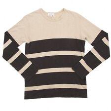 (SALE) Yohji Yamamoto POUR HOMME stripe long sleeved tops Size 3(K-14691)