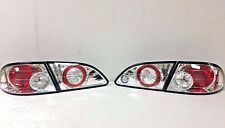 FITS TOYOTA COROLLA 1998-2002 CHROME TAIL LIGHTS (PAIR)