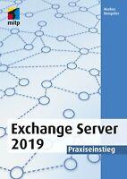 Exchange Server 2019, 1. A. 2019 +++ Direkt vom Verlag +++