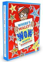NEW Where's Wally? Wow! 6 Books Set + Jigsaw by Martin Handford FREE AU SHIPPING