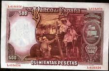 500 pesetas 1931 Juan Sebastian Elcano @ SIN CIRCULAR @