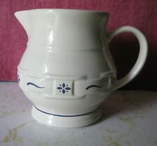 Longaberger Small Juice Pitcher - Woven Traditions Blue - Made In U.S.A.