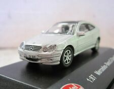 MODEL POWER 19010 Diecast car MERCEDES C CLASS SPORT COUPE SILVER NEW