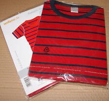 wellyou Kurzarm Shirt rot blau GR.128/134 NEU OVP