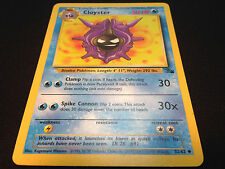 Pokemon Fossil Set Unlimited Edition UnCommon Card - Cloyster 32/62 Mint