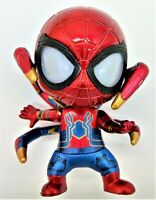 Spider-Man - Spiderman Figure Surprised (Magnetic feet, LED eyes, & Batteries)