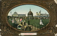 GREAT YARMOUTH Wellington Gardens Postcard nr Norwich NORFOLK Woolstone Brothers