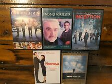 Dvd Lot of 5 Courageous, Finding Forrester, Inception, Saving Private Ryan, etc