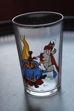 Ancien verre à moutarde - PANORAMIX ASTERIX OBELIX - vintage - 1968 UDERZO