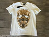 JUST CAVALLI Mens T-Shirt Short Sleeve New Collection S03GC0202, New With Tags