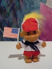Russ Olympic Patriotic American Flag Troll NEW