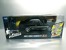 JADA RC Fast & Furious 1:12 Scale 12'' Dom's Dodge Charger 70' USB BIG CAR NEW!!