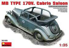 Miniart 1/35 Mb Typ 170V Cabrio Saloon Car #35103 *Sealed*New Release*