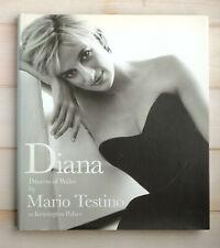 #M0630 - Mario Testino DIANA PRINCESS OF WALES hardback 1st ed Taschen