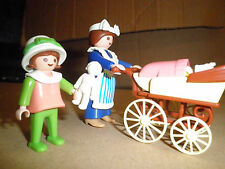 PLAYMOBIL VICTORIAN MANSION 5300  BABY CARRIAGE - Nanny GIRL BABY  5502