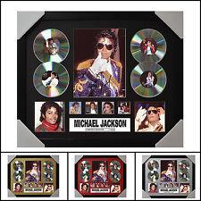 Michael Jackson Signed Framed Memorabilia Limited Edition - Multiple Variations