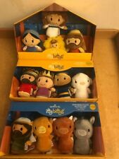 RETIRED! New Hallmark Itty Bitty Nativity COMPLETE set 3 -pack! 12 pieces in ALL
