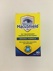 macushield original formula, no1 recommended supplement by eye experts,  30 day