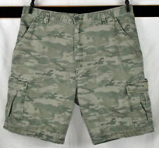 Wrangler 5 Pocket Short Green Vent Hommes Pantalon Bermuda w14cqa27m