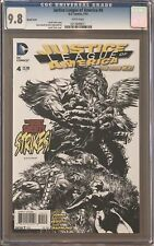 Justice League of America #4 Sketch Variant CGC 9.8