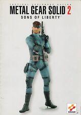 Metal Gear Solid 2 Figur Prospekt - Konami mucklefiguren - Prospekt - B3272
