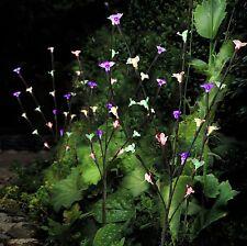 Multi Colore Solar giardino ornamentale Elegante Fiore Ramo Albero 60 LUCI LED
