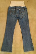 BUFFALO DAVID BITTON Maternity Jeans Sz 31 Boot Cut Denim Womens Farrah Plus EUC