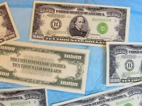 Reproduction of   $1 MILLION in CASH -    you get one hundred 1934 $10,000 bills