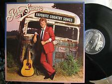 "RICKY SKAGGS ""FAVORITE COUNTRY SONGS"" LP"