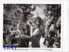 Jack Palance barechested, Allison Hayes VINTAGE Photo Sign Of The Pagan