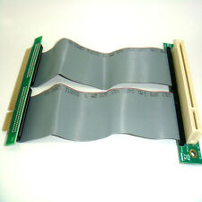 quality PCI 32bits Riser Extender Card with 15cm high speed Flexible Cable ST429