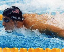MICHAEL PHELPS USA SWIMMING 8X10 SPORTS PHOTO (L)