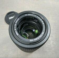 Nikon Nikkor 55-200mm F/4-5.6 G ED DX AF-S VR II Autofocus Lens