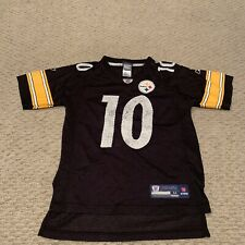 Santonio Holmes Pittsburgh Steelers Reebok NFL Football Jersey Boys Youth Medium