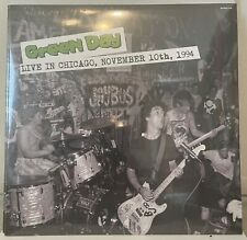 Green Day Live Chicago 1994 Lp New/Sealed Record 180g Punk Lookout Rancid Nofx