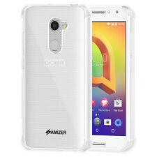 AMZER Pudding TPU X Protection Soft Skin Fit Case For Alcatel A3 - Crystal Clear