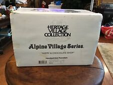 "Dept 56 Alpine Village ""Bakery And Chocolate Shop"" - Euc- #5614-6"