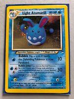 Light Azumarill Holofoil Rare Neo Destiny 13/105 Pokemon LP