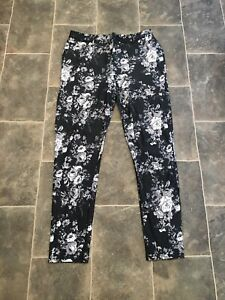 Size 14 Floral Treggings From Select