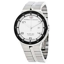 Porsche Design P'6350 Flat Six White Dial Automatic Mens Watch 6350.42.64.0276
