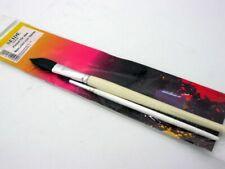Seide Set Pinsel 2 Pinsel für Seidenmalerei Schwertpinsel No 14 Rundpinsel N6