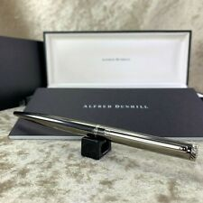Authentic Dunhill Ballpoint Pen New Gemline Black Pearl with Case & Papers (NEW)