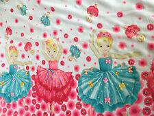 Rosa e Blu Ballerina Design Tessuto Chiffon