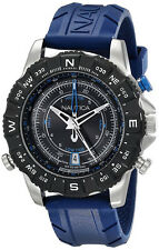 Nautica Men's NSR 103 Stainless Steel Watch with Blue Band NAD20005G