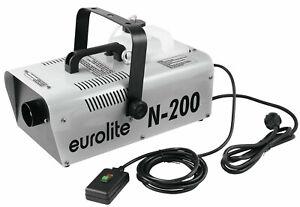 EUROLITE N-200 leistungsstarke Nebelmaschine Nebler Fog Machine Fogger 1800 Watt
